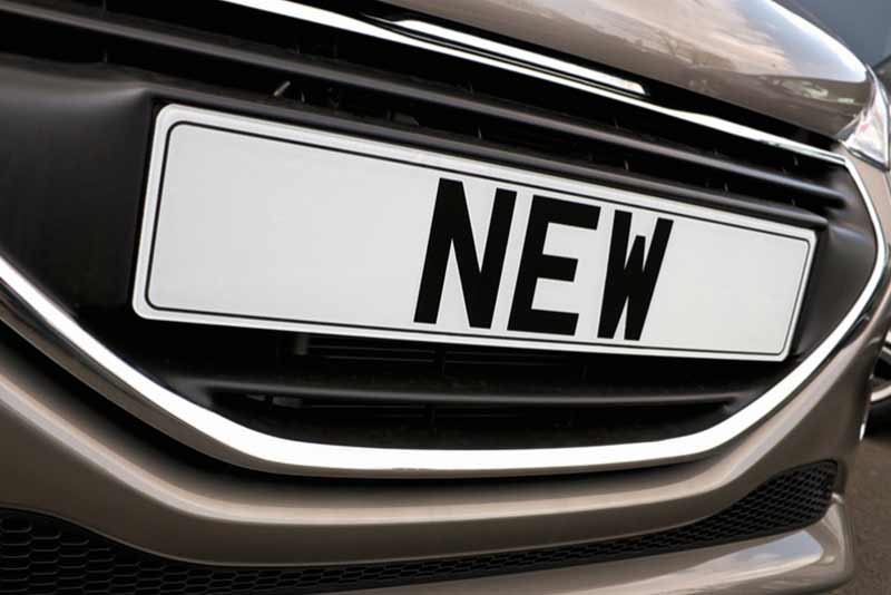 Reducing waste to ensure a seamless number plate change