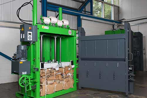 Factors to consider when choosing a waste baler or compactor