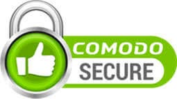 comodo secure website logo